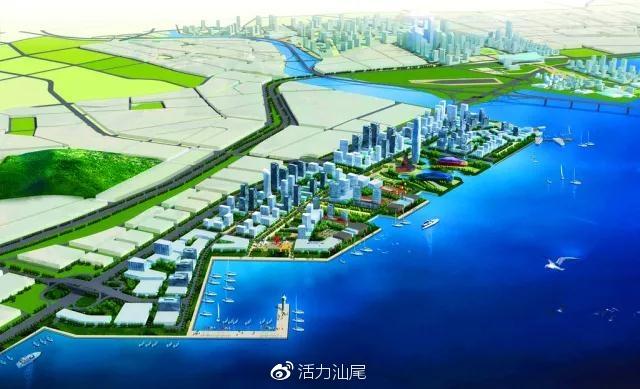 四方滨海新区规划图 环湾保护 拥湾发展 概念规划研究