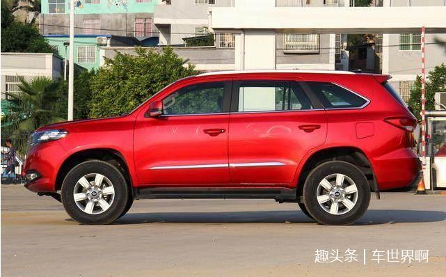 最厚道国产SUV,新车比H9还气派,大七座配四驱,卖10万