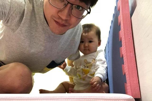 福原爱的女儿萌翻了,1岁小爱酱软萌可爱像极了妈妈,基因太强大