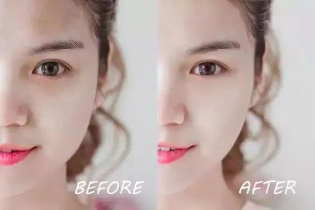 3个让圆脸变小的化妆技巧,瘦脸还减龄图片