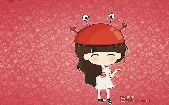no2:巨蟹座属龙天蝎座女生特点性格图片