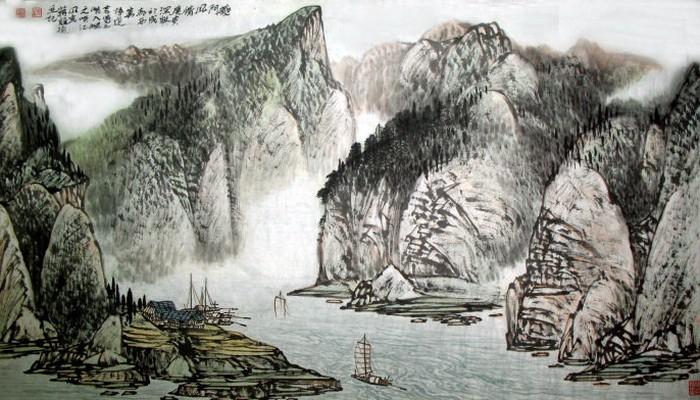 画家蒋维德:重视古代现代衔接,探取山水自身灵性图片