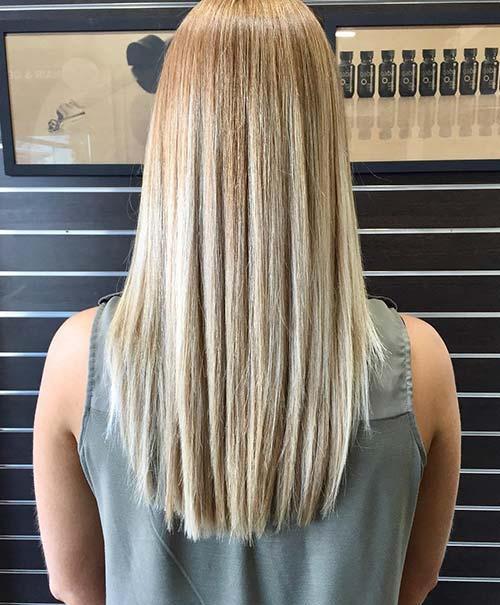 20款女生奇妙的balayage直发发型