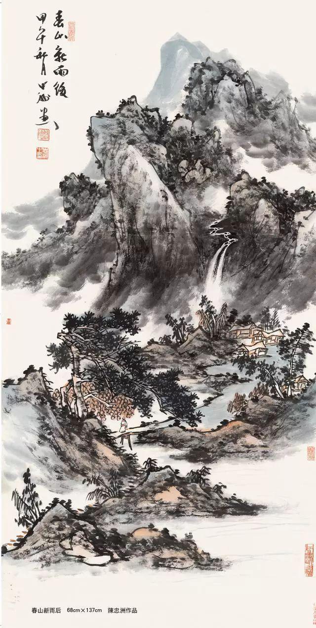 王中王一马中特2018胡润艺术榜发布画家陈忠洲入选中国十大国宝级艺术家