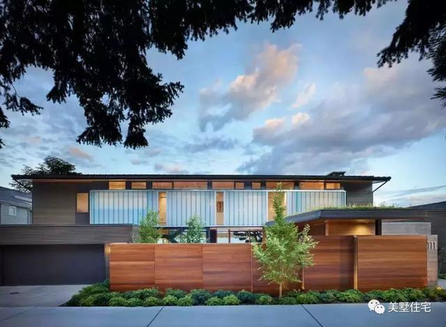 5种围墙围墙,36款材质v围墙,为碧海别墅找个最合适的阳光庭院院墙联排别墅图片