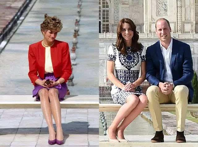凯特王妃穿灰色大衣,再度致敬戴安娜,网友:又戳了卡米拉的心!