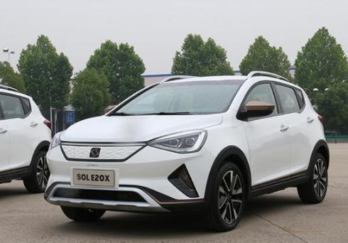 江淮大众SOL E20X续航达300km将于9月份上市,你会选择这款车吗
