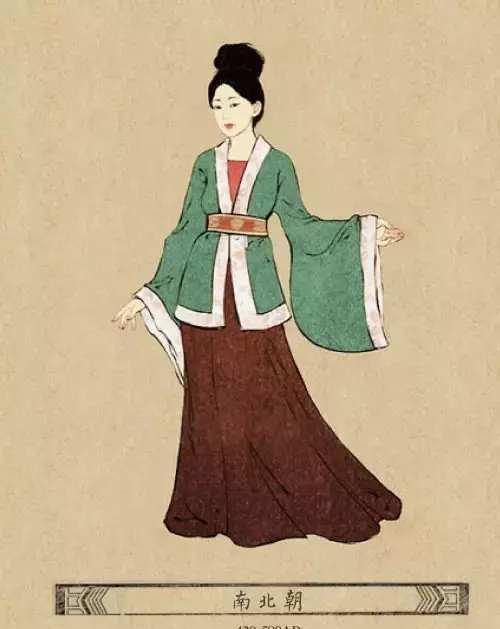 中国古代女子的服饰改变, 唐朝的这服装实在难以接受!