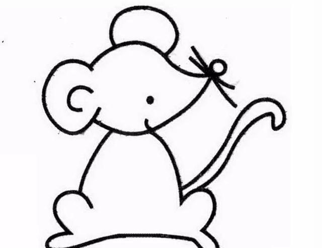 育儿|幼儿园可爱的简笔画,幼儿亲子儿童简笔画 幼儿园