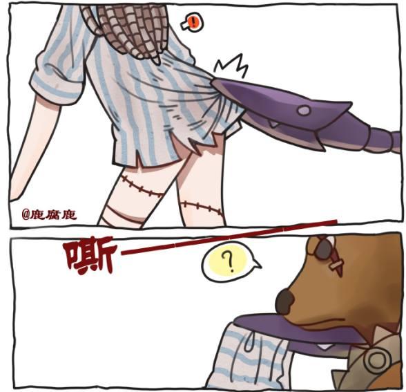 第五人格:变态啊,鹿头把人家盲女的裙子弄破了?是想干嘛啊?