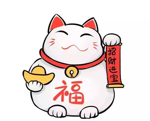 超简单的绘画小教程——可爱的招财猫