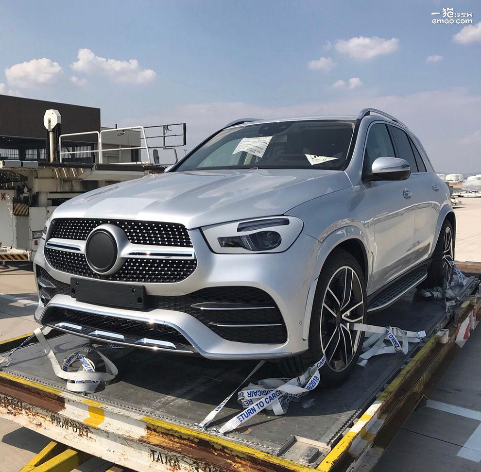 巴黎车展首发 全新奔驰GLE预告图曝光