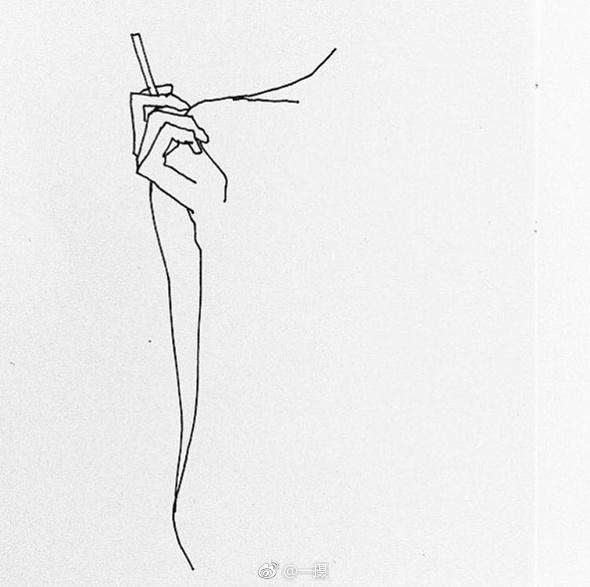 极简线条下的人体×插画师frédéric forest