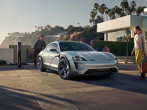 保时捷电动跑车Taycan明年上市 售价或在8万欧元左右