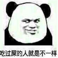 我们不一样表情包熊猫头,不一样难道你是吃屎长大的图片