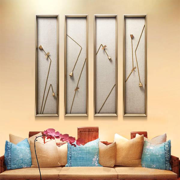 手绘风景装饰画,做工精湛,颜色优雅大方有层次感,简约大气有质感