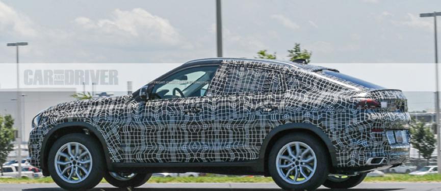 这才叫真正的轿跑SUV?第三代宝马X6路试谍照曝光