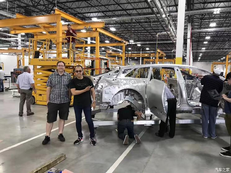 贾跃亭造车又近一步 FF 91首台白车身诞生了