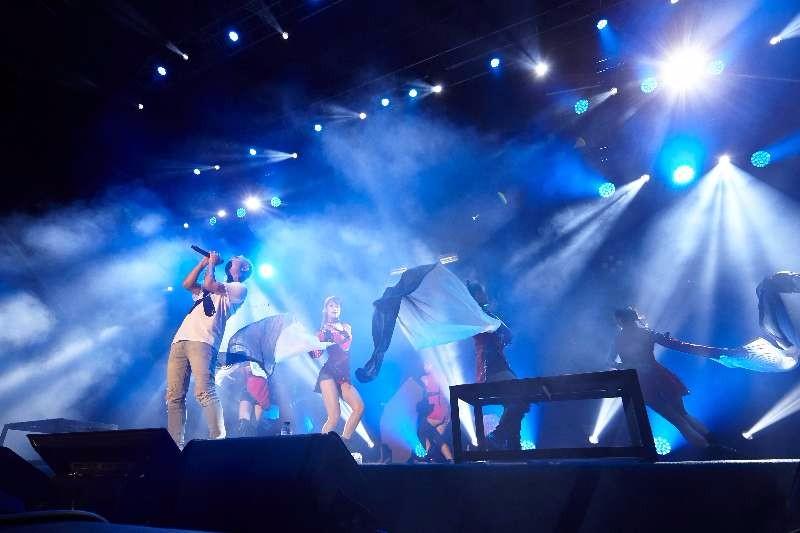 GAI周延世界巡演首站落幕 GAI式说唱嗨翻台湾