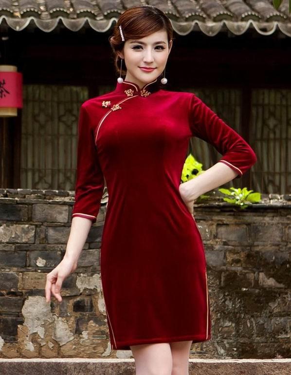 性感旗袍美女,你最喜欢哪一个?
