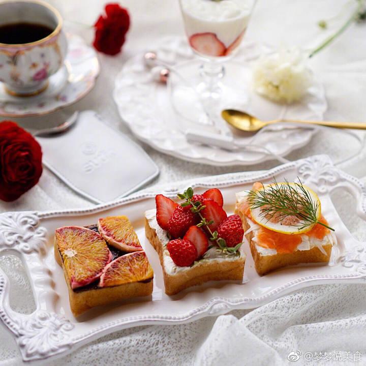 漂亮的土司早餐ins:aya_m08图片