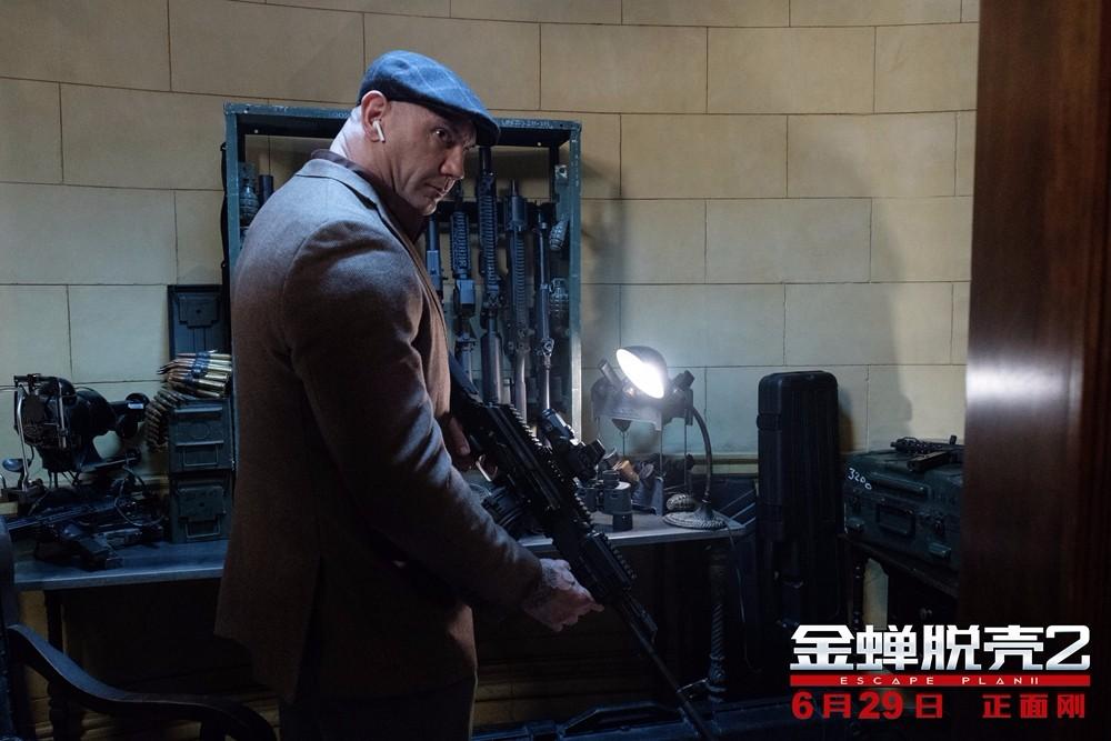 《金蝉脱壳2》最强后盾版特辑 戴夫挺身相助越狱天团再添制胜砝码