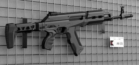 俄军装备AK15突击步枪,科赫公司:精准高威力大,适应室内作战