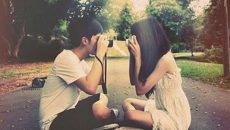 男女分手的照片_男女朋友分手几天后,又复合了,相处不自然,是为什么?