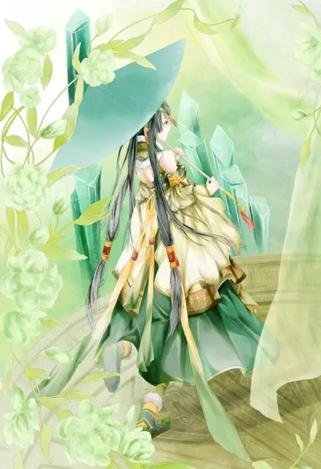 中国古风动漫美女插画
