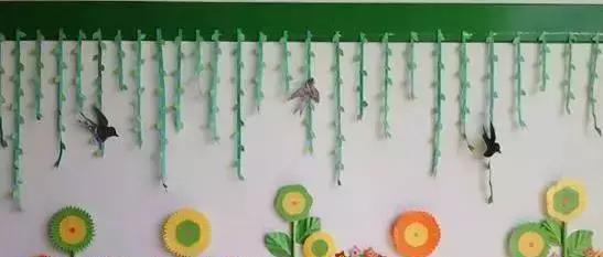 幼儿园春天环境布置及手工制作,简单易学|三叶草|纸花