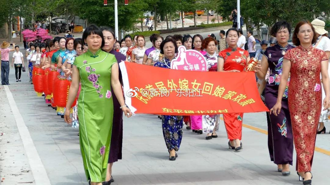 东平古巷:250名外嫁女的高中惊艳唐诗学时的旗袍图片