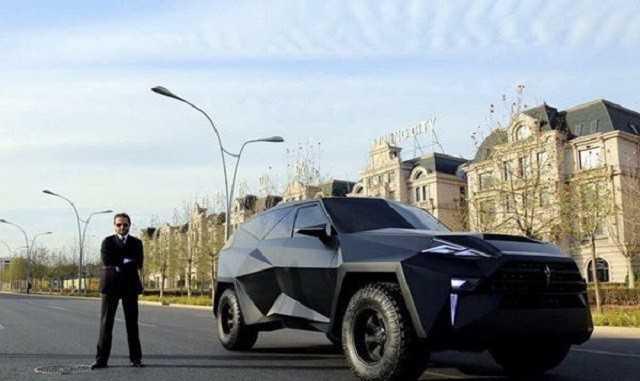 国产豪车!震撼来袭!北京车展直接挑战法拉利!