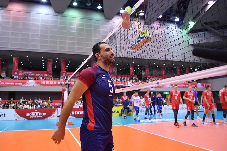 挂靴仪式!男排世界杯39岁的突尼斯队长莫斯利告别国际赛场!