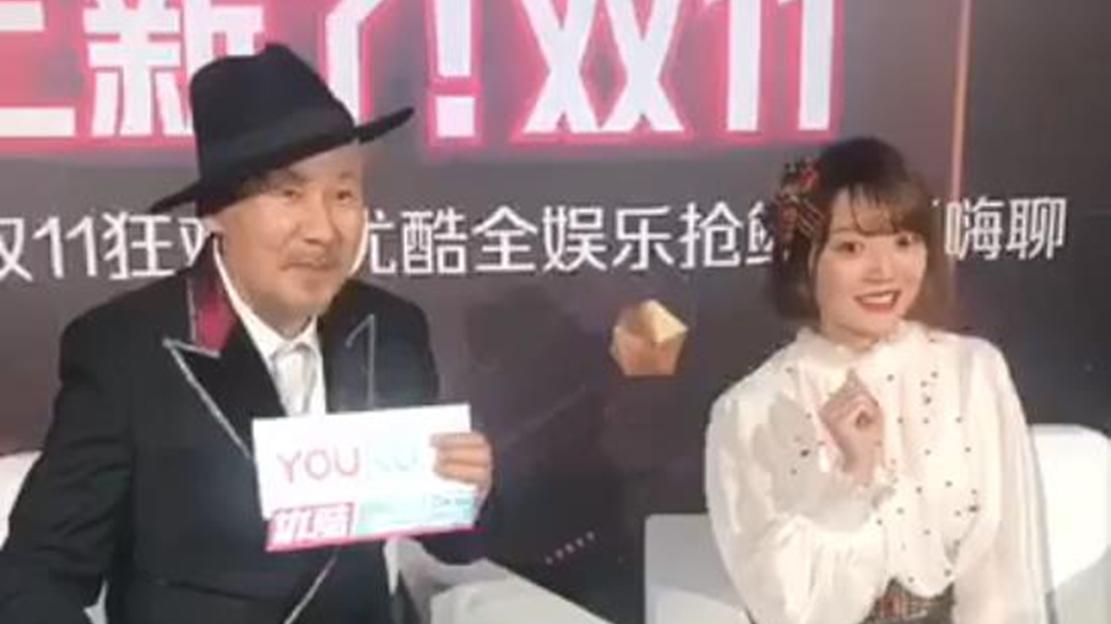 双11晚会后台群访,花泽香菜教腾格尔唱《恋爱循环》!