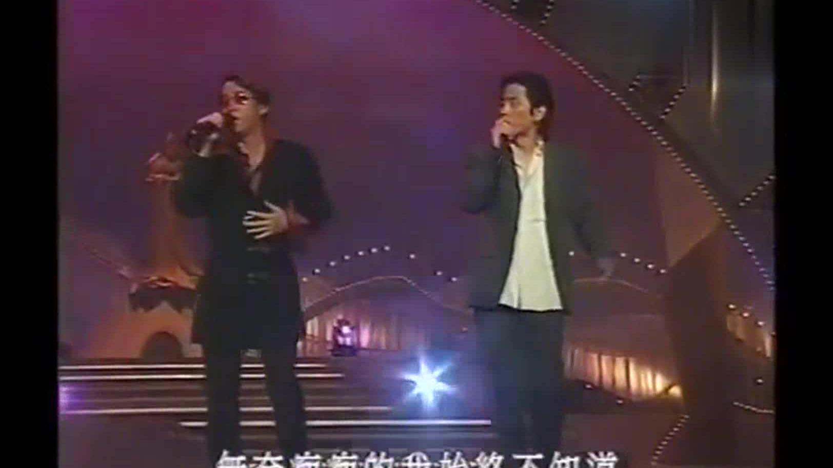 王杰、谭咏麟互唱对方歌曲别有一番风味!