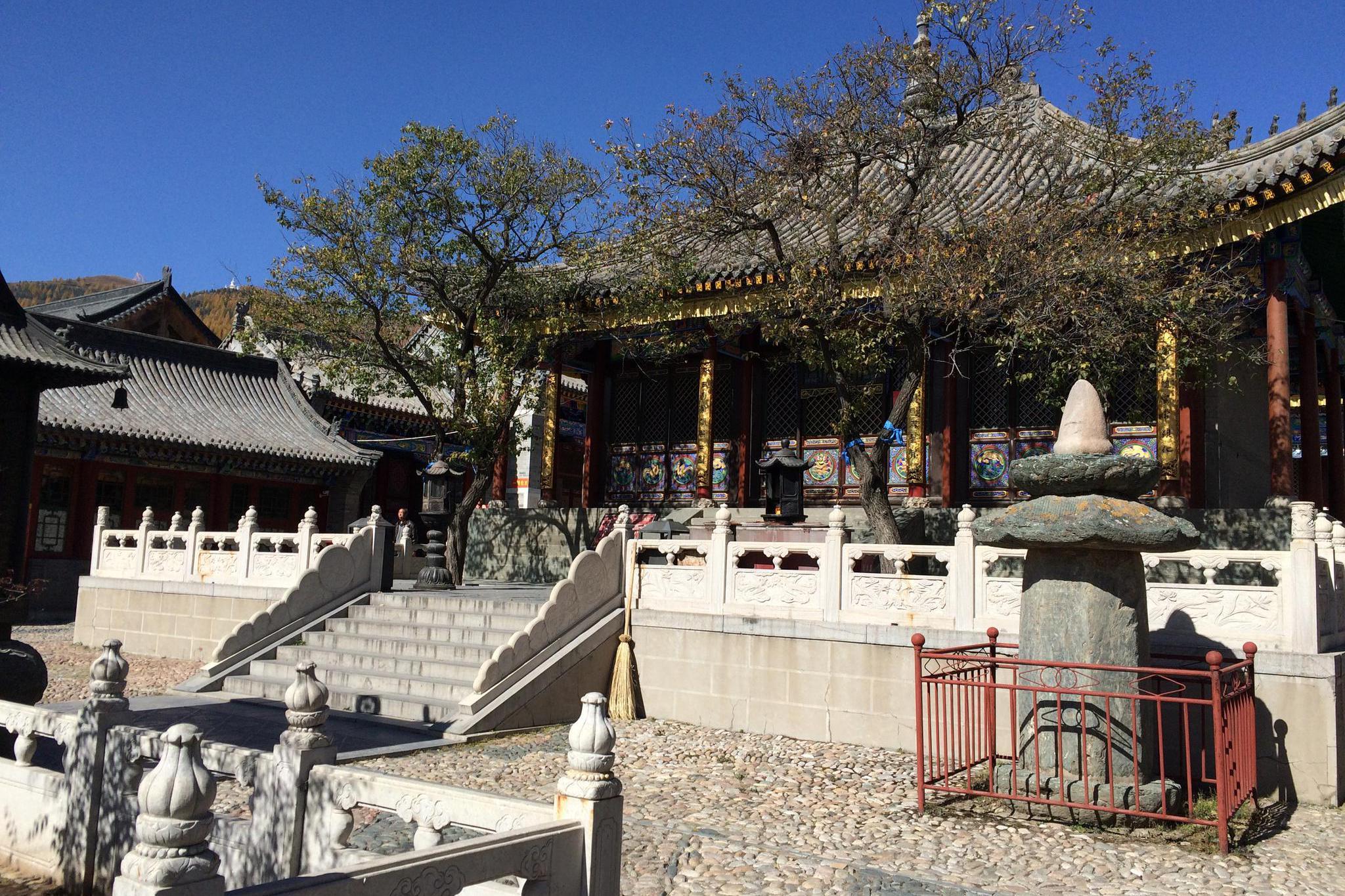 山西省 忻州市 五台山 广化寺