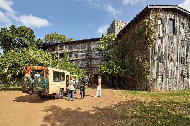 肯尼亚 阿伯德尔国家森林公园 著名的树屋酒店,因为女王而出名