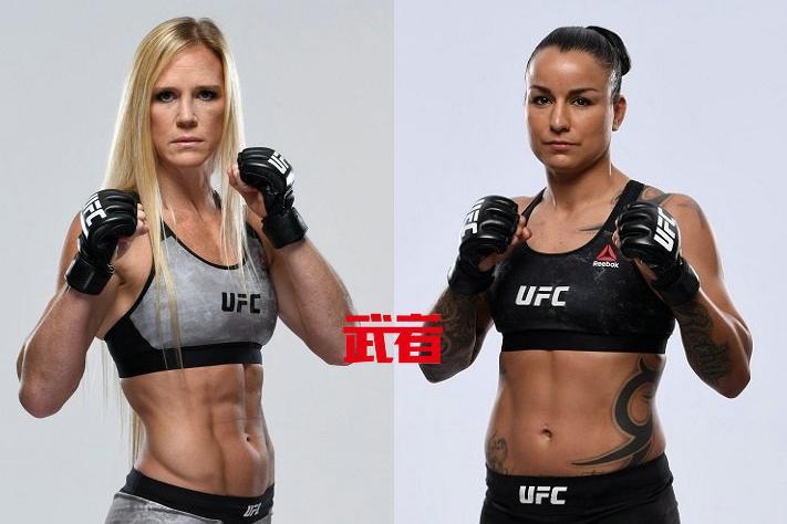 UFC 243:霍利·霍尔姆vs拉克尔·彭宁顿
