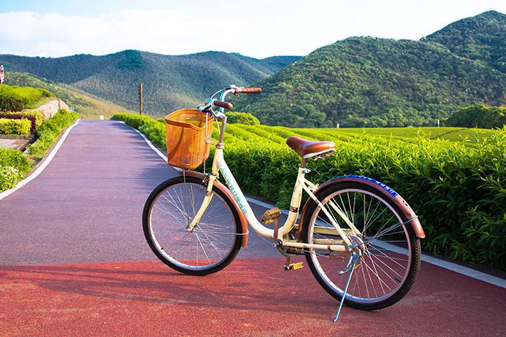 宜兴龙池山自行车公园,在骑行中欣赏美景,在美景中舒畅身心!
