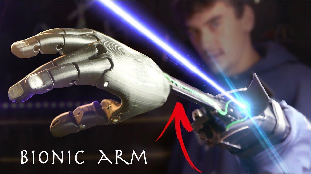 厉害了!技术牛人打造超级英雄仿生手臂