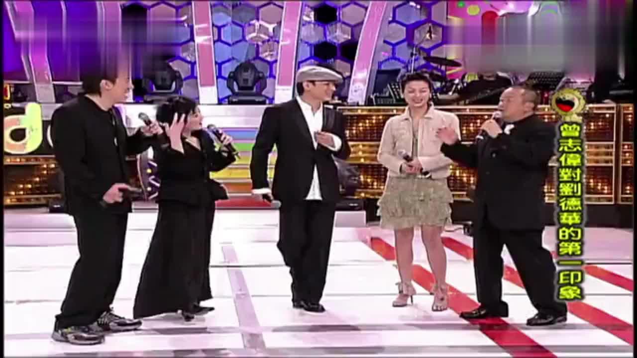 吴倩莲刘德华是我的第一个男人陈小春曾志伟是我的徒弟