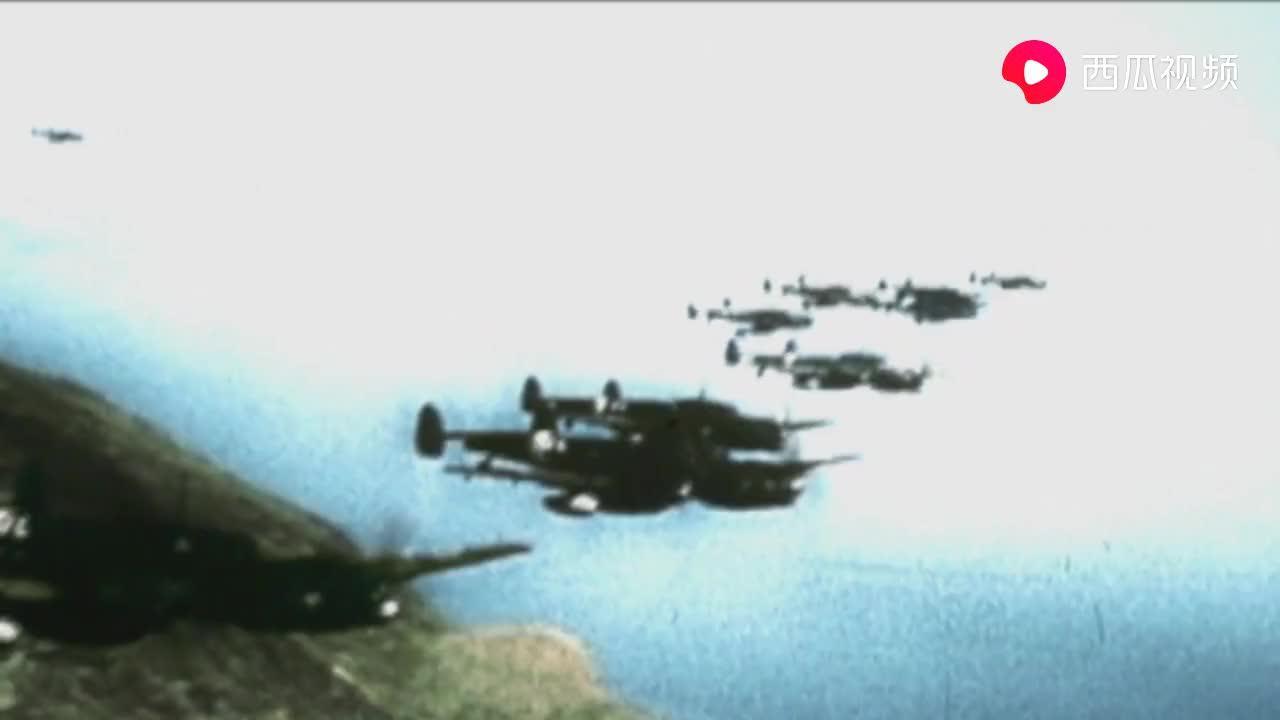 德军飞机轰炸马耳他,盟军高射炮手发威击落一架架纳粹飞机