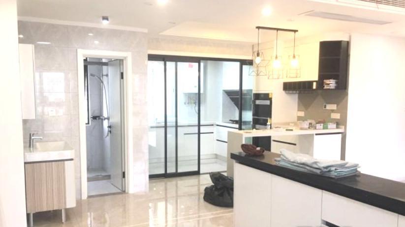 忙活3个月的新房,家具电器还没买就很清新漂亮,关键硬装才10万