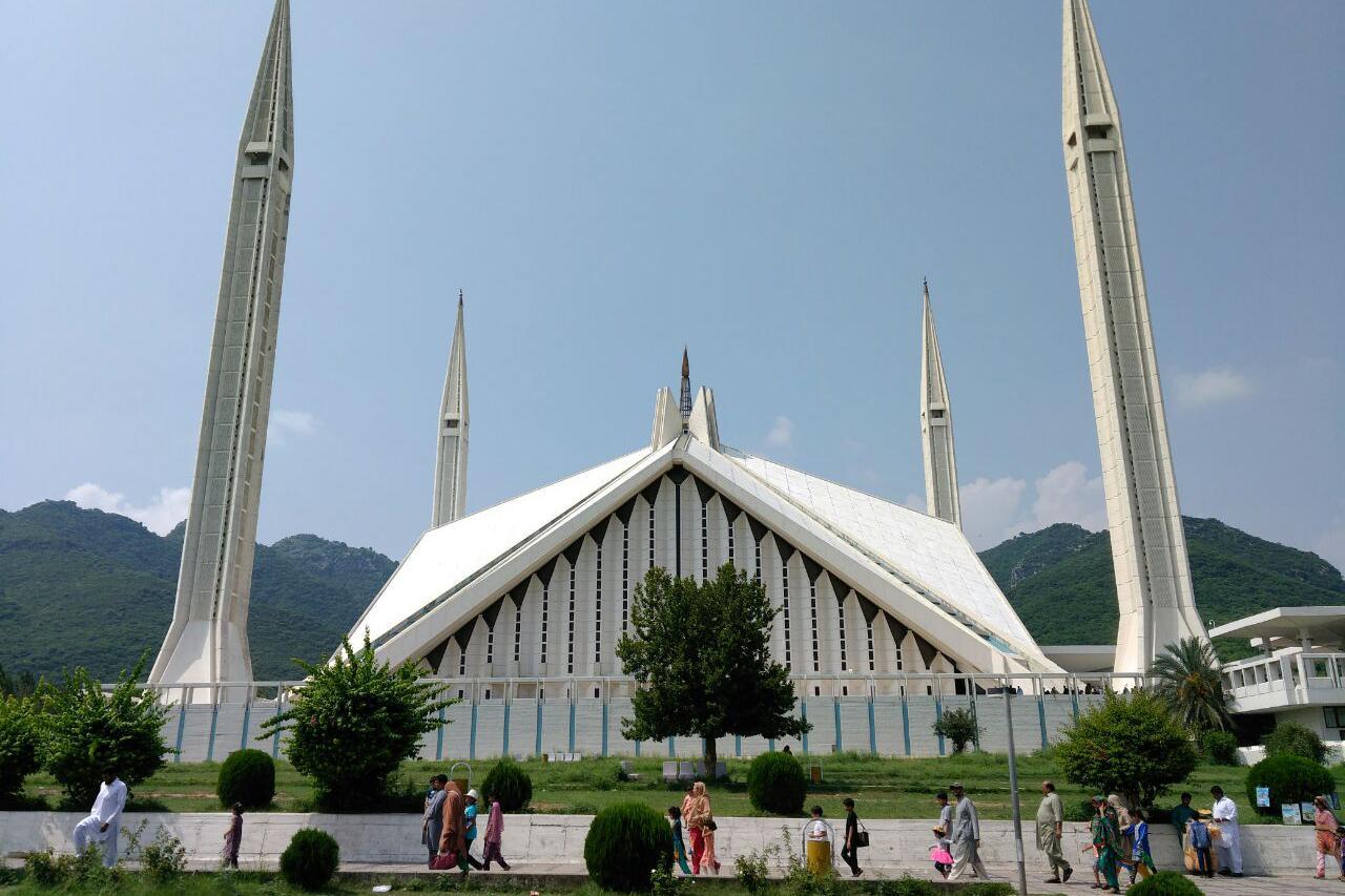 巴基斯坦 伊斯兰堡 费萨尔清真寺