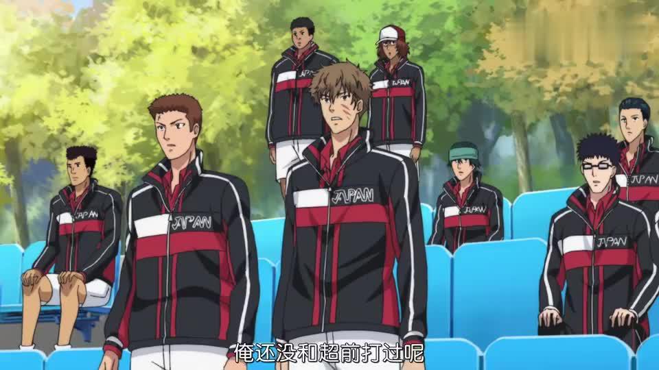 新网球王子教练组出现金太郎龙马比赛被叫停金太郎很不开心