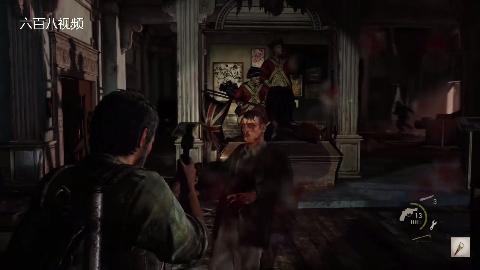 游戏《最后生还者重制版》剧情剪辑六,丧尸来袭,跑为上策