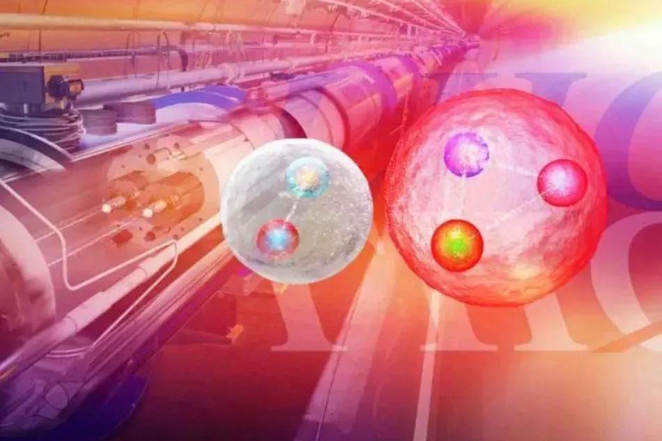 将光子湮灭,两个原子核的中心碰撞:产生夸克、胶子等离子体!