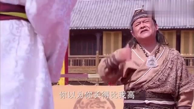 隋唐英雄4:薛丁山还没开打,就嘲讽对手打不过他,对手不服!