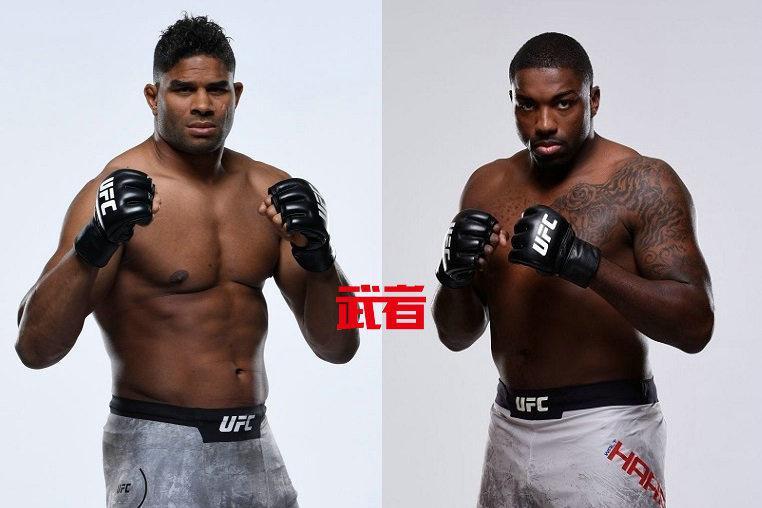 UFC格斗之夜172:欧沃瑞姆vs哈里斯,埃斯帕扎vs沃特森