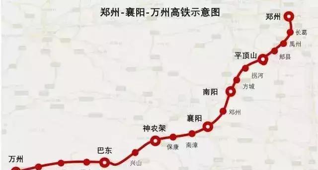 激动 国家最新高铁规划出炉, 襄阳华中名副其实的铁路枢纽
